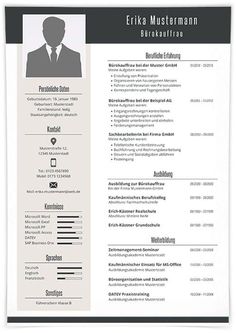 Premium Bewerbungsdesign 2