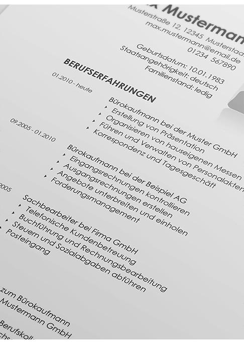 Lebenslauf Muster als Word-Datei | lebenslaufmuster.de