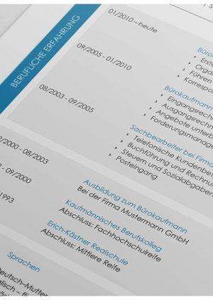 Lebenslauf Verwaltungsfachangestellte Detail